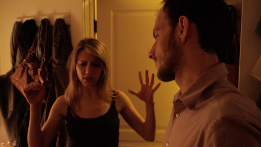 Rebecca directing - hands necessary.  Actor abuse.