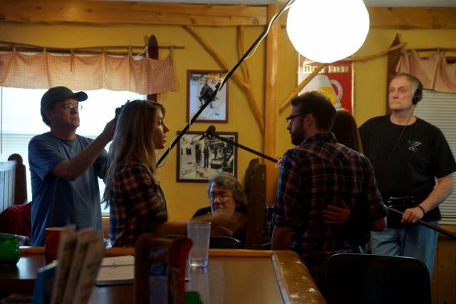 Filming at Northern Grill